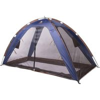 DERYAN Tente-lit avec moustiquaire 150x70x100 cm Bleu