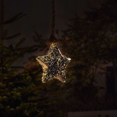 Luxform Lampe d'atmosphère à LED à piles Rope with Star