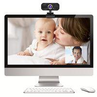 Webcam 1080p k68 webcam à focale fixe haute définition usb-2.0 play