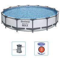 Bestway Ensemble de piscine Steel Pro MAX 427x84 cm