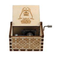 Star Wars Collectibles Boîte à musique en bois 18 tons pour cadeau