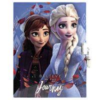 Frozen 2, Journal avec Serrure - Believe in the Journey
