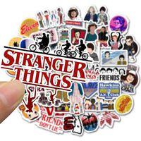 Autocollants Stranger Things - imperméables pour skateboard,