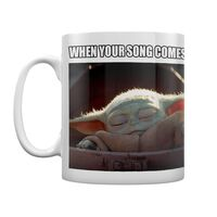 Baby Yoda, Tasse - When your song comes on