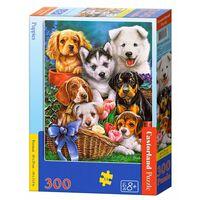 Castorland Puppies 300 pcs Jeu de puzzle 300 pièce(s)