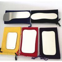 Miroirs double face matériel de verre matériel de dentisterie -