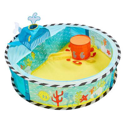 Worlds Apart Piscine à boules escamotable Ocean 80x80x20cm Multicolore