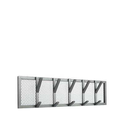 LABEL51 Porte-manteau Gruff 80x9x22 cm L Gris