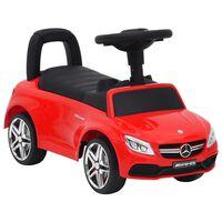 vidaXL Voiture à pédales Mercedes-Benz C63 Rouge