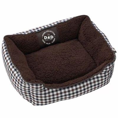 D&D Lit pour chiens Sweet Checker 80 x 60 x 24 cm 671/438091