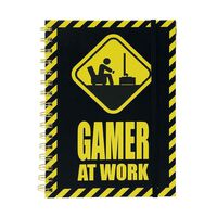 Cahier - Gamer at Work, A5