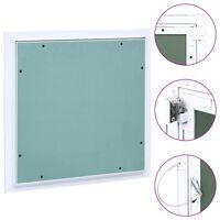 vidaXL Panneau d'accès Cadre en aluminium plaque de plâtre 300x300 mm