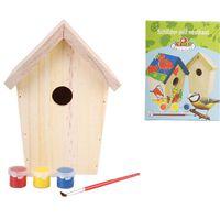 Esschert Design Maison d'oiseaux 14,8 x 11,7 x 20 cm KG145