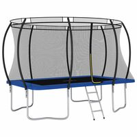 vidaXL Ensemble de trampoline rectangulaire 335x244x90 cm 150 kg