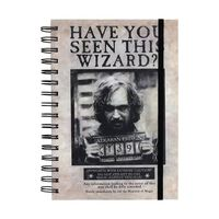 Harry Potter, Bloc-notes A5 - Sirius Black