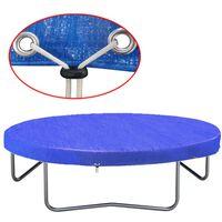 vidaXL Housse de trampoline PE 450-457 cm 90 g/m²