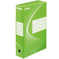 Esselte Boîte à fichiers 25 pcs Vert 80 mm