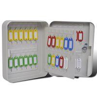 vidaXL Boîte à clés avec 48 étiquettes de clé