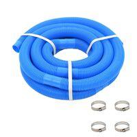 vidaXL Tuyau de piscine Bleu 38 mm 12 m