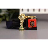 Porte-clés logo de l'équipe nationale de la coupe du monde de