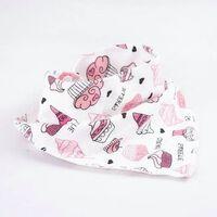 Bavoirs bébé imperméable triangle coton dessin animé enfant