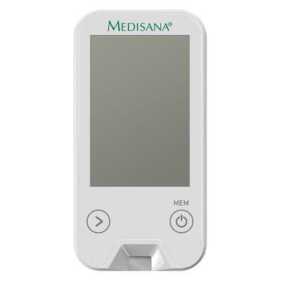 Medisana Lecteur de glycémie MediTouch 2 Blanc mg/dL