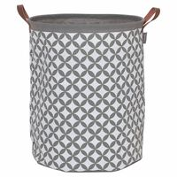 Sealskin Panier à linge Diamonds Gris 60 L 362302012