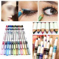 Ensemble de 12 Crayons Contour des Yeux tincelants, Fard  paupir
