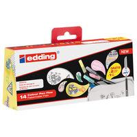 edding Feutres de coloriage fin 14 pcs Multicolore 1200