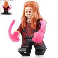 Poupée de bloc de construction super-héros playmobil, figurines