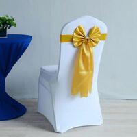 Ceinture de chaise en spandex - décoration de chaise de mariage