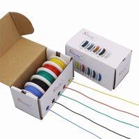 Fil de silicone flexible de 30AWG 50m avec boîte de 5 couleurs -1