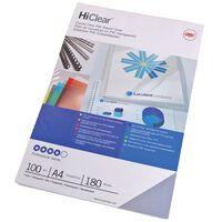 GBC Ensemble de couvertures de reliure HiClear A4 150 microns