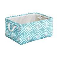 Panier de rangement en tissu en toile cube - boîte de rangement