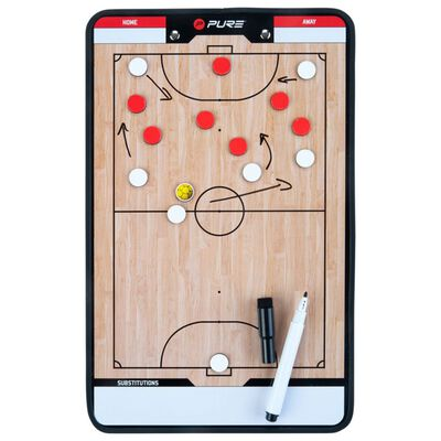 Pure2Improve Tableau d'entraîneur Futsal 35x22 cm P2I100650