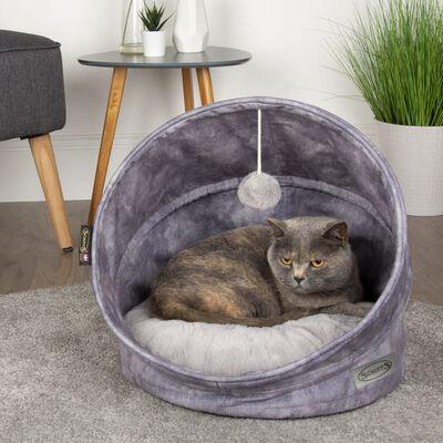 Scruffs & Tramps Lit pour chats Kensington 44x48 cm Gris