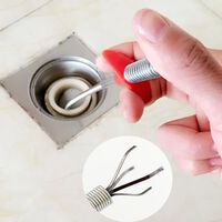 Outil de clip pour égouts de pression de flexion à la main pour