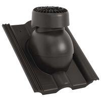 vidaXL Ventilateur de toit Noir