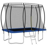 vidaXL Ensemble de trampoline rectangulaire 274x183x76 cm 150 kg