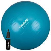 Avento Ballon de fitness/d'exercice avec pompe Diamètre 65 cm Bleu