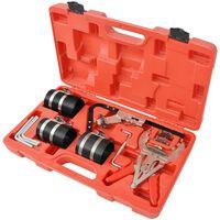 vidaXL Kit d'outils d'entretien de segment de piston 11 pièces