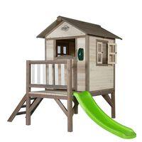 Sunny Maison pour enfants Lodge XL avec toboggan C050.002.00