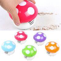 Mini-champignon portable mignon - aspirateur de poussière de table
