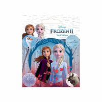 Frozen 2 / La Reine de Neiges 2, 5x Autocollants