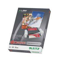 Leitz Pochettes de plastification ILAM 175 microns A4 100 pcs