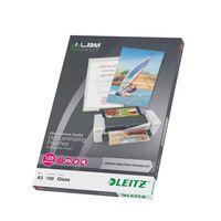 Leitz Pochettes de plastification ILAM 125 microns A3 100 pcs