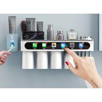 Porte-brosse à dents à adsorption magnétique - accessoires de