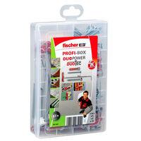 Fischer Ensemble de chevilles avec vis PROFI-BOX DUOPOWER/DUOTEC 87pcs