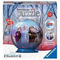 Ravensburger Puzzle 3D rond 72 pièces - Disney La Reine des Neiges 2