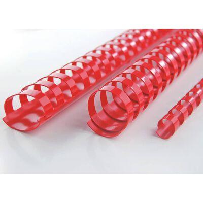 GBC Ensemble d'anneaux de reliure CombBind 14 mm Rouge